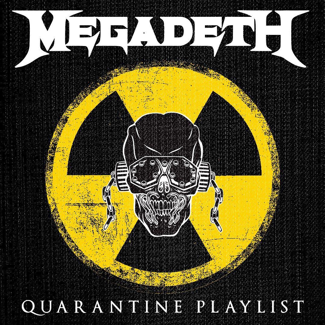 quarantine megadeth playlist trip release power safe stay exodus ozzy stream featuring songs through metalsucks 16th album health